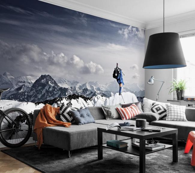 Foto Realistische Tapeten Großformatig Wanddesign Trend